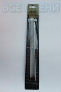 Спицы адди addi прямые чулочные 3.5 20 металл