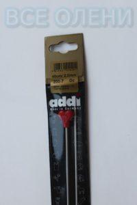 Спицы адди addi прямые 2.0 40 никель супергладкие