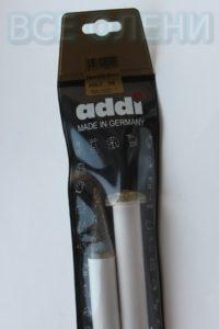 Спицы адди addi прямые 20.0 35 пластик