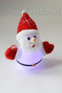 Дед Мороз - фонарик Новогодний