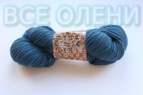 Пряжа клиппан сауле 6/2 синяя