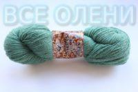 Пряжа клиппан сауле 6/2 зелёная