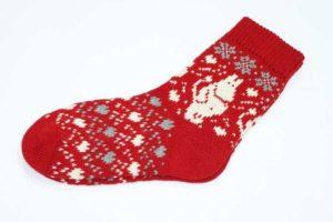 Носки вязаные с Муми-троллями