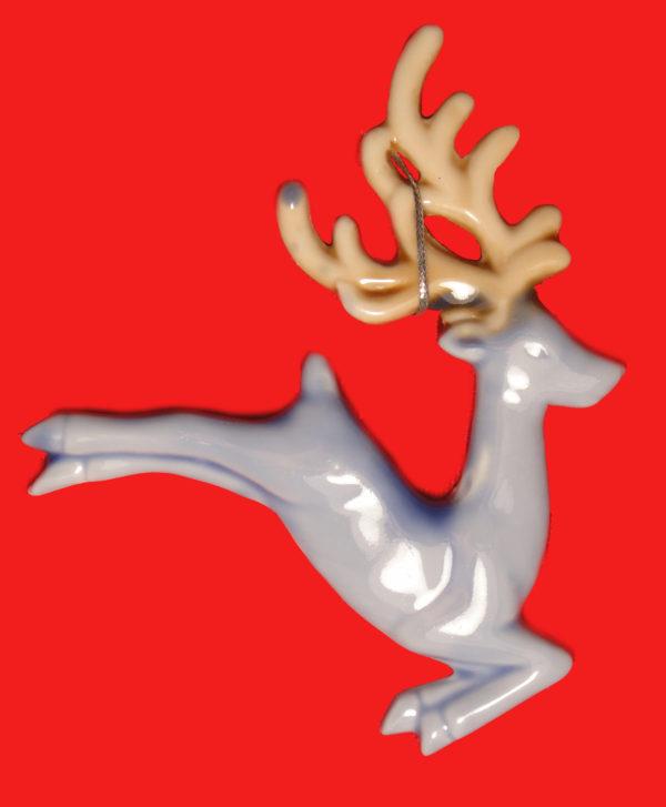 керамическая игрушка олень