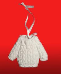 керамическая игрушка свитер