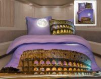 Комплект постельного белья семейный РИМ