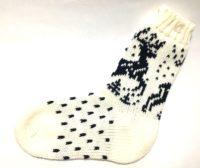 Носки шерстяные с оленями детские